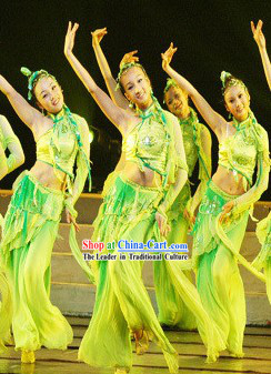 Chinese Drama Dance Costume Complete Set