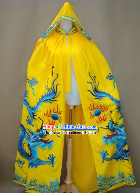 Chinese Opera Emperor Dragon Dress Smock Set