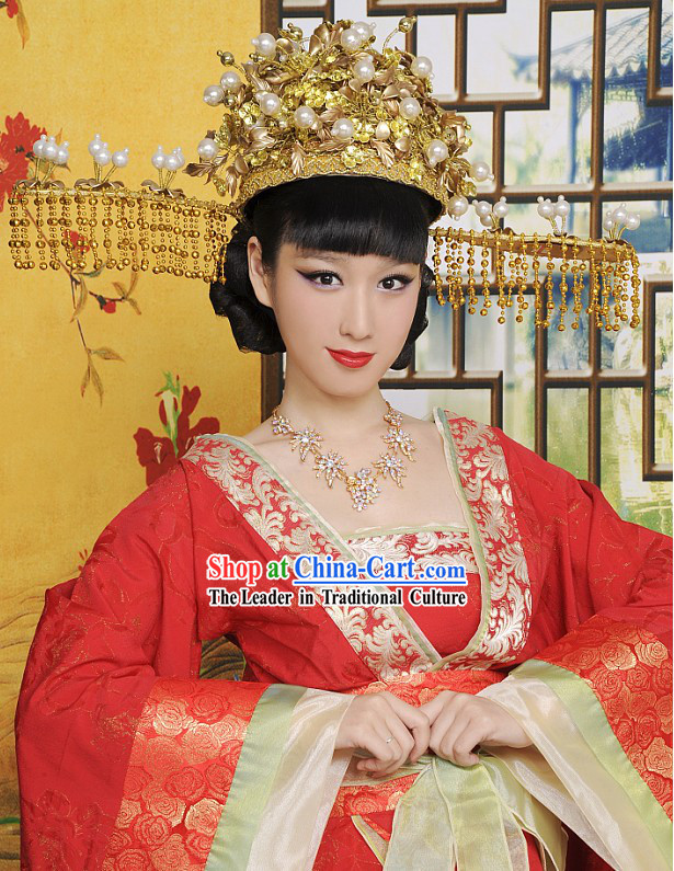 Chinese Princess Wedding Hat Hair Decoration