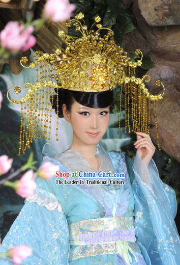 Chinese Classical Empress Headdress Hat