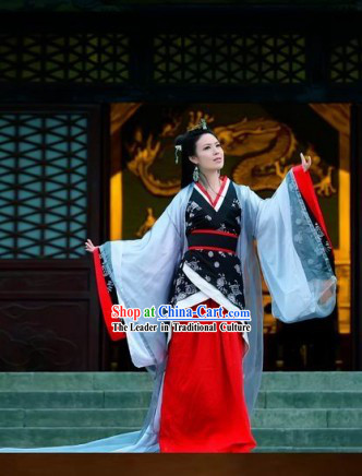 Ancient Empress Han Fu Costumes