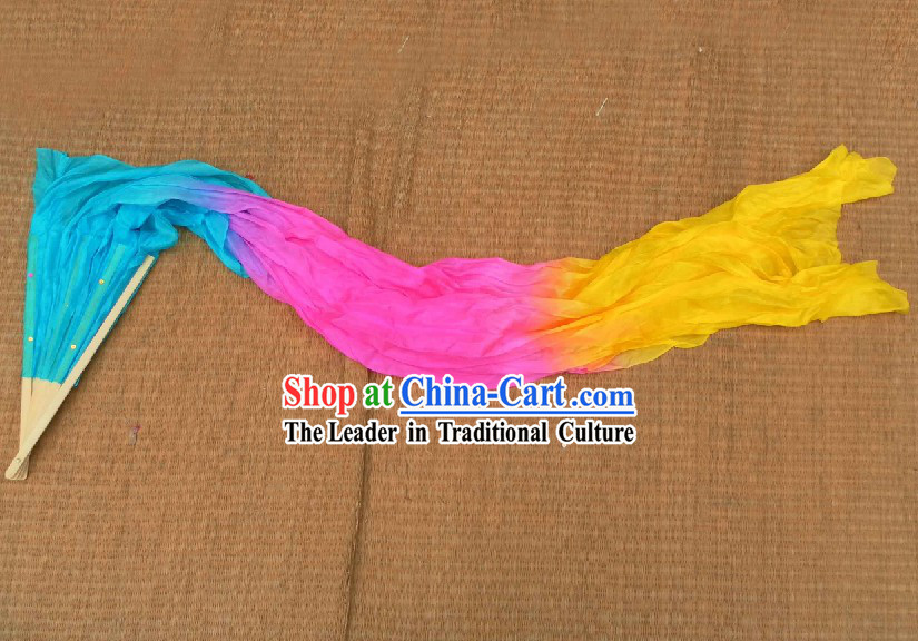Chinese Silk Fan Streamer