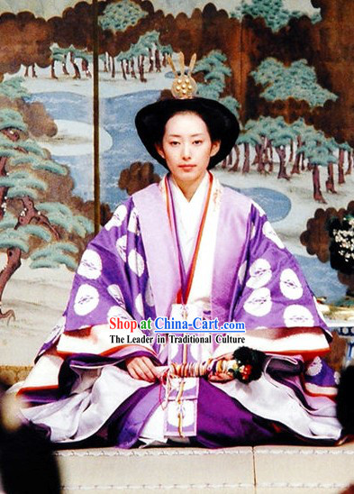 Japanese Empress Clothes Complete Set