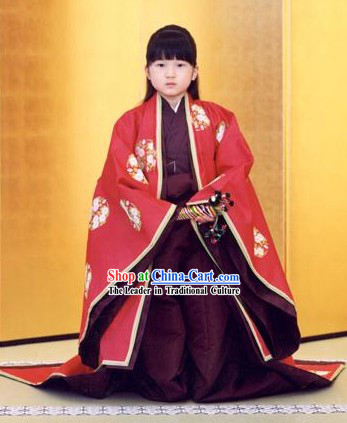 Japanese Princess Clothes for Children