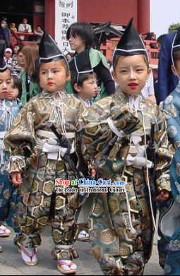 Ancient Japanese Clothing for Children