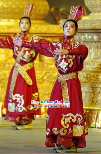 Chinese Prince Dress and Crown Set