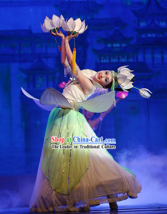 Jasmine Flower Dance Costume Complete Set