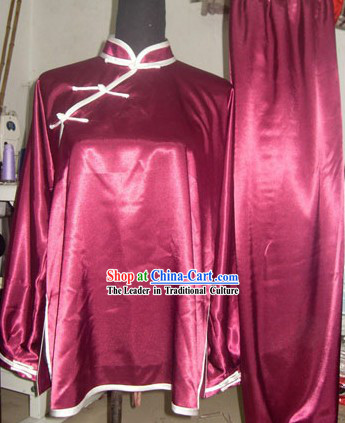 Chinese Traditional Wushu Competition Suit