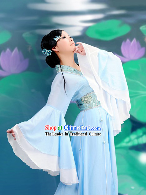 Chinese Classical Dance Costumes Complete Set