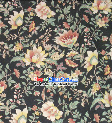 Traditional Silk Qipao Fabric