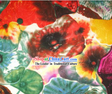 Colorful World Silk Fabric