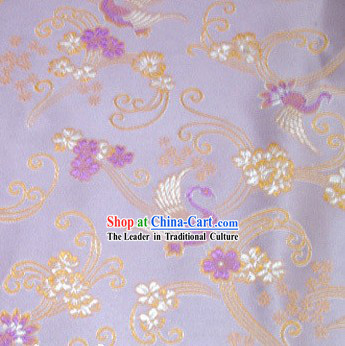 Classical Swan Silk Fabric