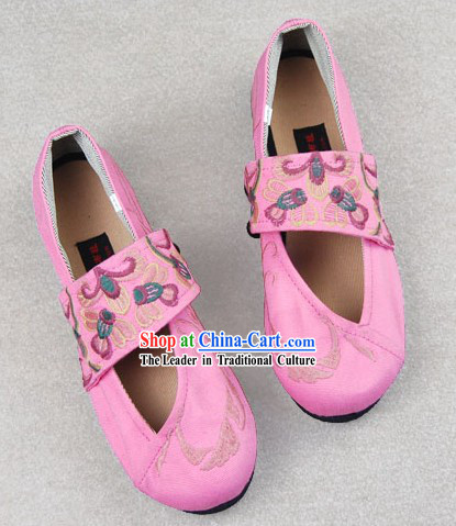 Traditional Chinese Handmade Cloth Shoes
