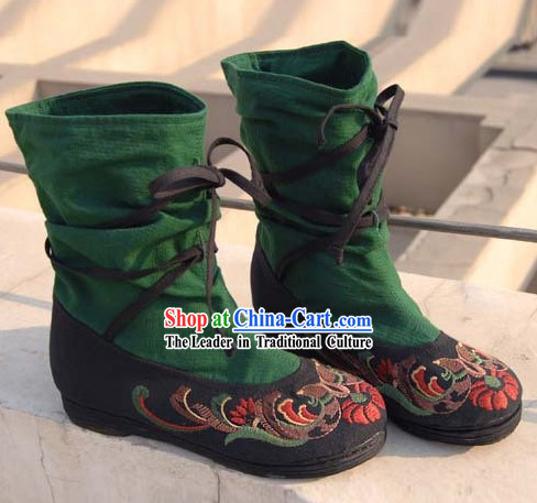 Traditional Chinese Ethnic Boots