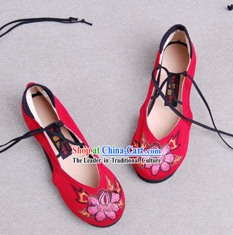 Chinese Classic Shoes / Ancient Women Shoes / Chinese Wedding Shoe