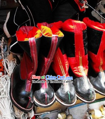 Chinese Classical Tibetan Boots