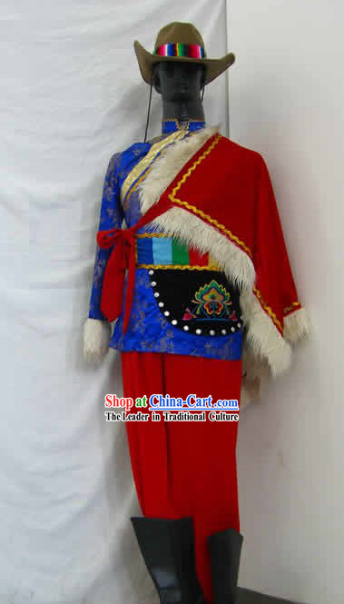 Chinese Nationality Dance Costume for Men