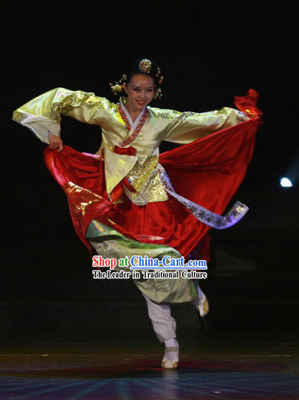 Traditional Korean Dance Costumes Complete Set