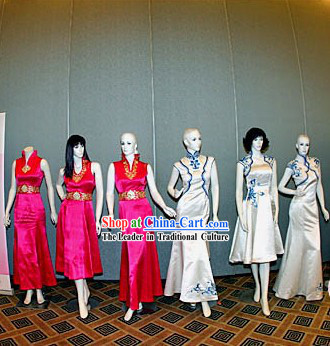 Beijing Olympic Games Qipao Etiquette Ceremonial Clothes