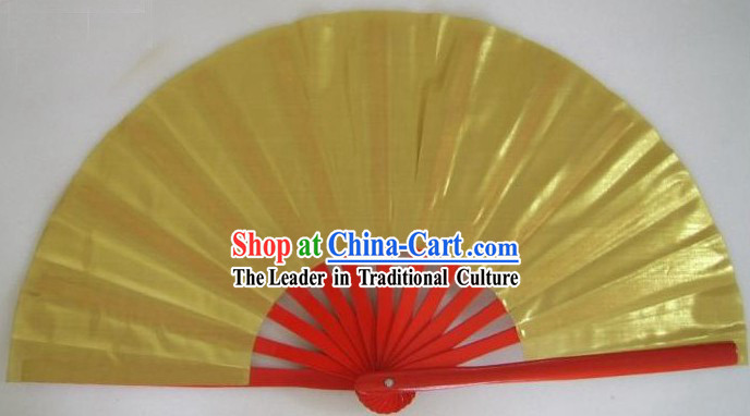 Chinese Tai Chi Golden Fan