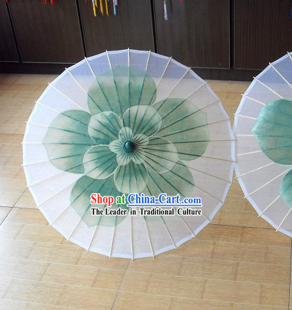 Chinese Jasmine Flower Dance Umbrella