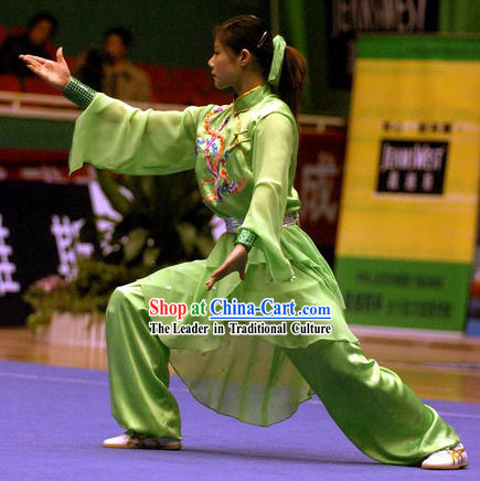 Chinese Wushu Competition Suit for Women