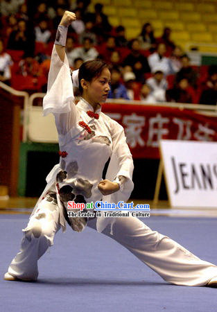 Top Grade Taichi Clothing Beijing Chinese Professional Tai Chi Suit for Women