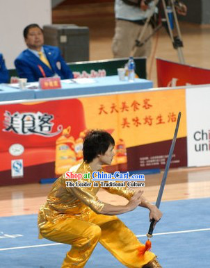 Professional Stage Performance Shinning Kung Fu Uniform