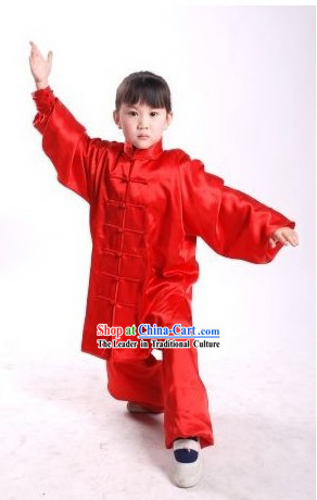 Chinese Wushu Competition Uniform for Children