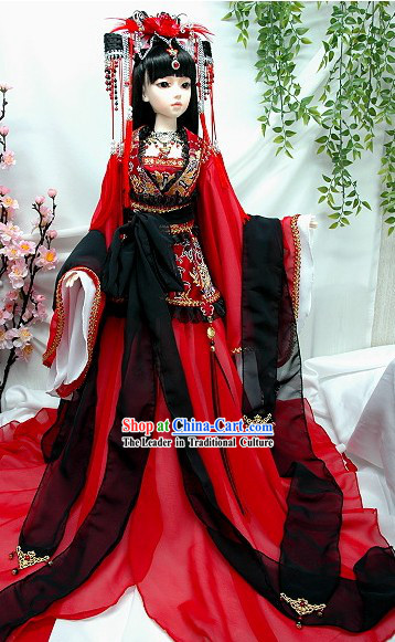 Tang Dynasty Princess Costumes for Adults or Children