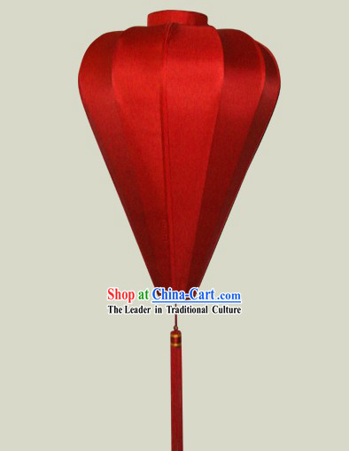 Chinese Lucky Red Silk Lantern