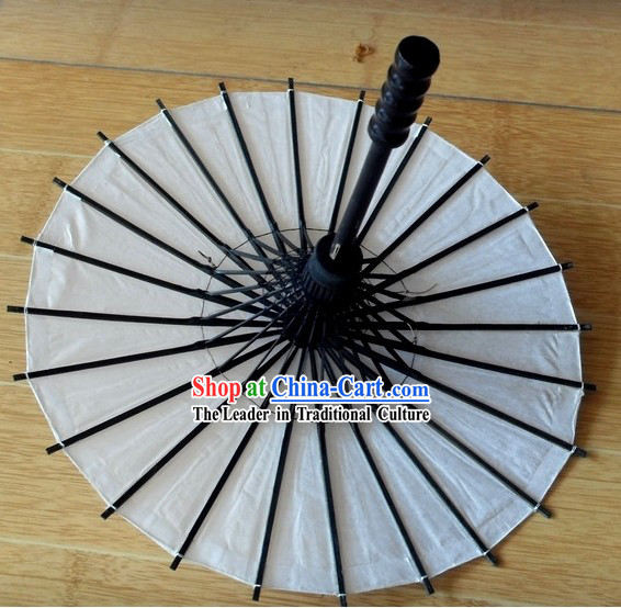 Chinese White Small Umbrella