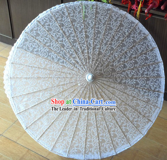 Romantic Wedding Bamboo Lace Umbrella