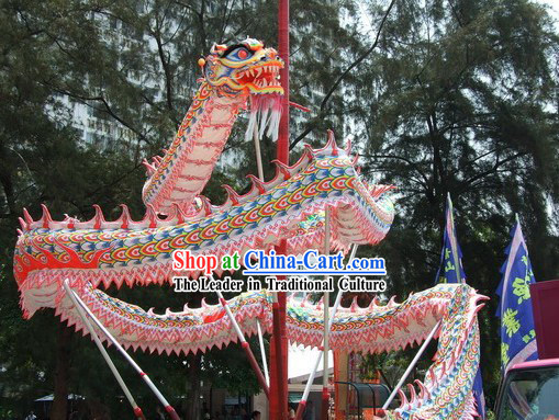 Luminous Chinese Southern Dragon Dance Costumes