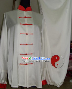 Chinese Wushu Performance Costume Complete Set for Men