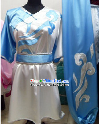 Traditional Chinese Kung Fu Master Costume Set