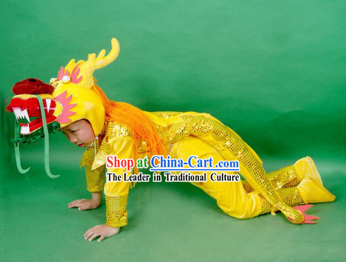 Dragon Dance Uniform for Children