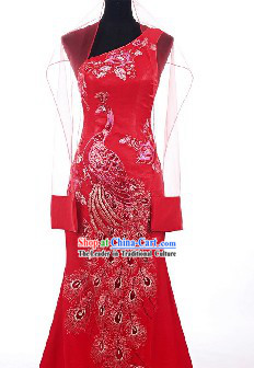 Traditional Chinese Bridesmaid Clothing