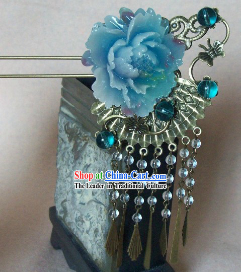 Ancient Chinese Handmade Flower Hairpin for Women