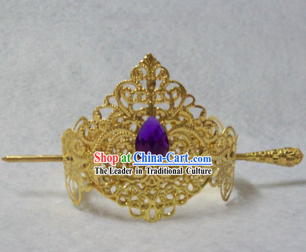 Ancient Chinese Handmade Prince Crown