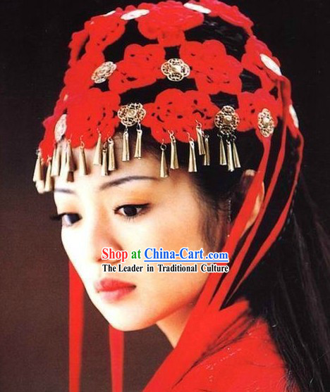 Traditional Chinese Wedding Hair Ornament for Brides