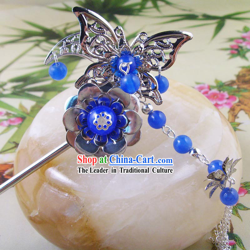 Ancient Chinese Handmade Butterfly Hanging Hair Accessories