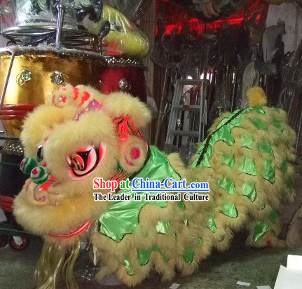 Happy Festival Celebration Lion Dance Costume Complete Set