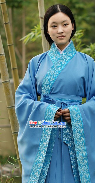 Han Dynasty Quju Clothing for Women