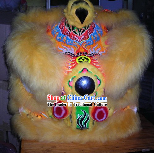 Traditional Festival Celebration Lion Dance Costume Complete Set