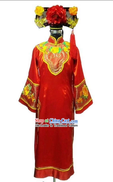 Manchu Princess Clothing and Hat