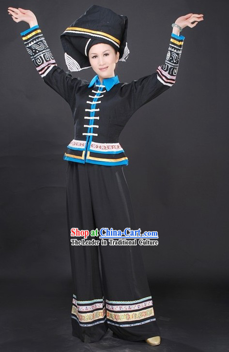 Traditional Handmade Chinese Ethnic Clothing for Women