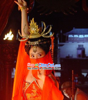 Handmade Dunhuang Dance Headpiece Set