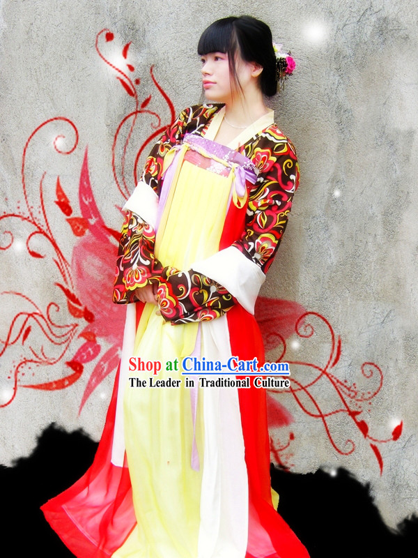 Ancient Chinese Imperial Beauty Outfit