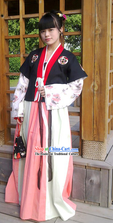 Ancient Chinese Female Hanfu Costume